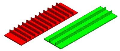 9-تیرک های نگهدارنده (اصول طراحی قطعات پلاستیک قالب تزریق)