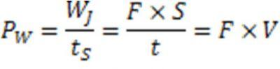 6-فرمول توان (مبانی هیدرولیک)